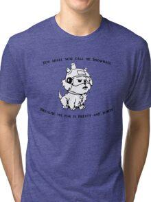 Snowball Rick and Morty Tri-blend T-Shirt