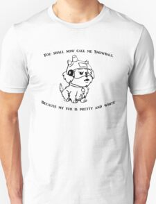 Snowball Rick and Morty T-Shirt