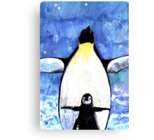 Baby Penguin Canvas Print