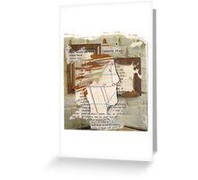 the speed ofthe past Greeting Card
