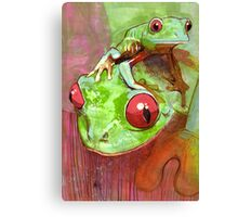 Baby Frog Canvas Print