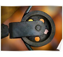 Bronze Pulley - Antique Boat Poster