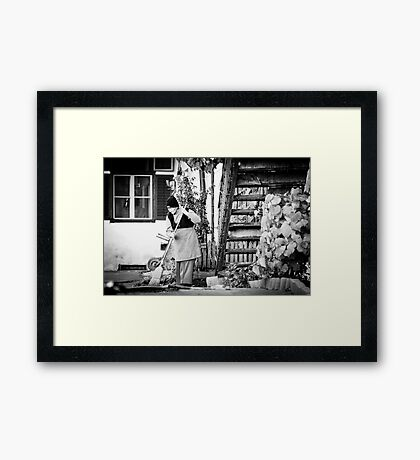 OnePhotoPerDay Series: 295 by L. Framed Print