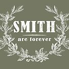 SURNAME - SMITH on BLACK by MEDIACORPSE