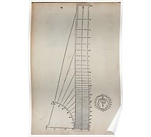 Measurement With Compass Line Leveling Albrecht Dürer or Durer 1525 0092 Repeating Shapes Poster