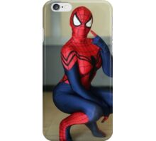 Female Spiderman Cosplay iPhone Case/Skin
