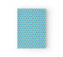 Pattern 502 - Blue and Green Hardcover Journal