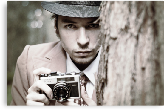 The Intense Photographer by Daniel  Angeles