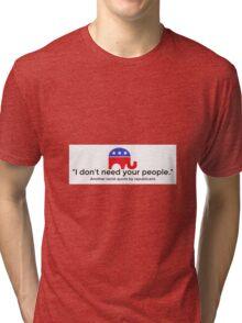 Quotes Tri-blend T-Shirt