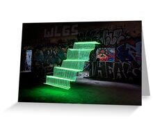 Light Painting #2 Greeting Card