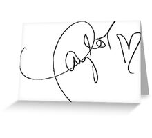 Taylor Swift Autograph Greeting Card