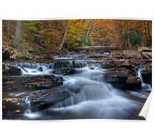 Kitchen Creek Autumn, Ricketts Glen Poster