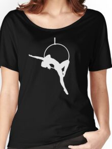 Lyra Aerialist Silhouette   Women's Relaxed Fit T-Shirt