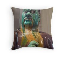 Here come the judge.. Throw Pillow
