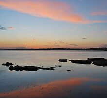 Tuggerah Lake 22-10-10 ( sunset ) by Warren  Patten