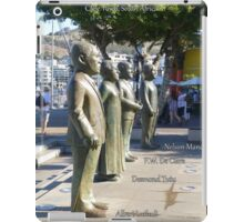 Four South African Nobel Peace Prize Winners iPad Case/Skin
