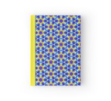 Pattern 504 - Blue, Purple, and Green Hardcover Journal