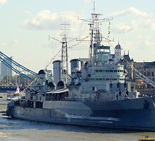 HMS Belfast 7 by Chris Day