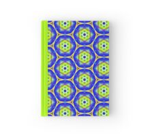 Pattern 505 - Blue, Green, and Yellow Hardcover Journal