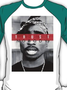 """2Pac """"Trust Nobody"""" Limited  T-Shirt"""