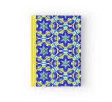 Pattern 506 - Blue, Green & Yellow Hardcover Journal