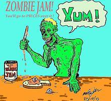 Zombie jam by mattycarpets