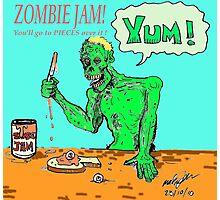 Zombie jam Photographic Print