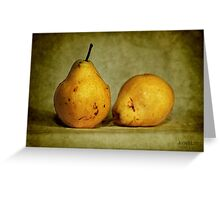 dos pear Greeting Card