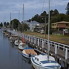 Port Fairy wharf by Leanne Nelson