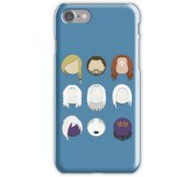 Defiance Minimalistic Character Set  iPhone Case/Skin