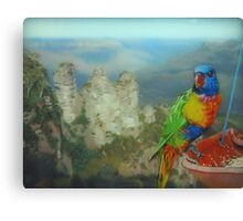 Lunch with a View Canvas Print