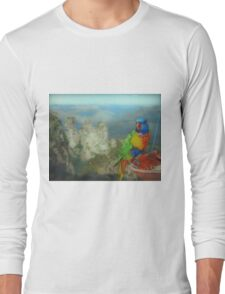 Lunch with a View Long Sleeve T-Shirt