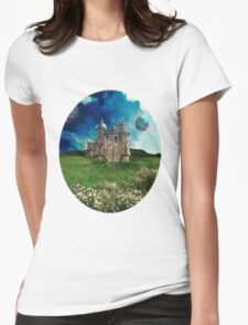Tranquil Domain Womens Fitted T-Shirt