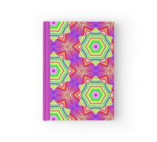 Pattern 509 - Green, Purple, Red, and Yellow Hardcover Journal