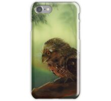 The Curious Visitor iPhone Case/Skin