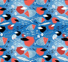 fish pattern by Tanor