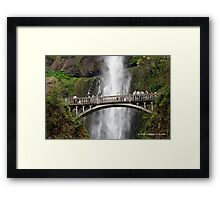 SPECTATOR'S BRIDGE ( BENSON BRIDGE) Framed Print