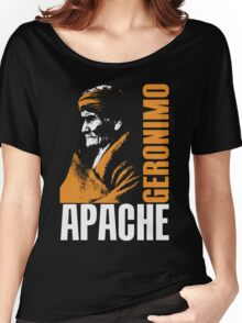 GERONIMO-APACHE Women's Relaxed Fit T-Shirt