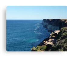 Cliffs (1) Canvas Print