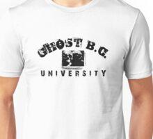 GHOST B.C. UNIVERSITY - BLACK Unisex T-Shirt