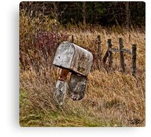 Death of snail mail Canvas Print