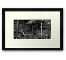 A Little Peace of History Framed Print