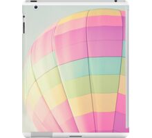 pastel hot air balloon iPad Case/Skin