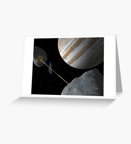 Realm of Giants Greeting Card