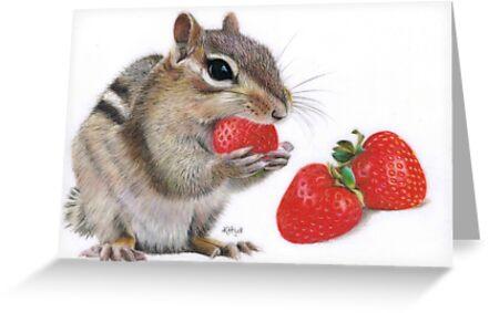 Strawberry Delight by Karen  Hull