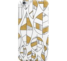 MCM Autumn Leaves Gold iPhone Case/Skin