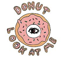 Donut Look At Me Photographic Print