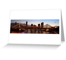 Story Bridge - Brisbane Greeting Card