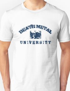 DEATH METAL UNIVERSITY - BLUE T-Shirt