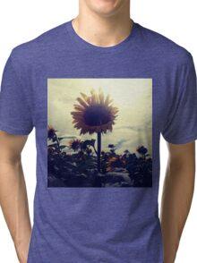 Sunflower In The Field Tri-blend T-Shirt